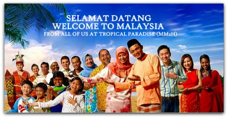 welcome to malaysia(tropicalparadise)